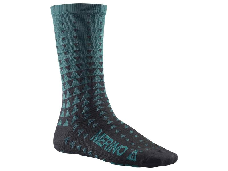 Mavic Ksyrium Merino Graphic Sock